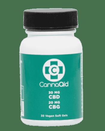 CBD CBG soft gel