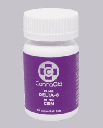 CBN D8 softgels